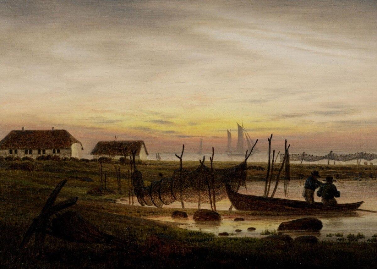 Landschaftsmalerei romantik friedrich  Sammlung - Museum Behnhaus Drägerhaus - Die Lübecker Museen